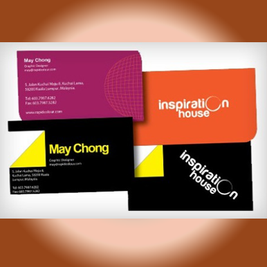Digital business card name card printing order quick and easy 260gsm art card reheart Image collections